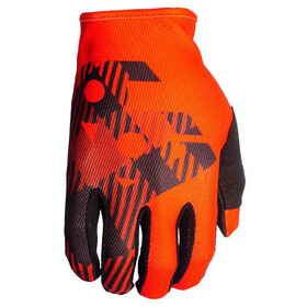 SixSixOne Comp Gloves rosso flannel